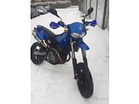 BLUE CCM R30 SUPERMOTO EXCELLENT CONDITION LOW MILEAGE