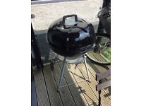 Drum charcoal BBQ