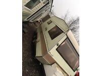 2 berth caravan twin axle