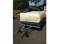Racelet Quickstop folding camper,trailer tent lightweight ready to go