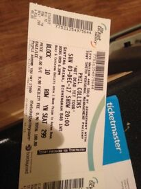 Phill Collins tickets