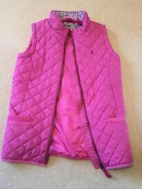Girls Joules gilet age 11-12 yrs