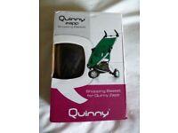 BOXED NEW Quinny Zapp shopping Basket Black