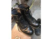Doc martens steel cap boots uk12