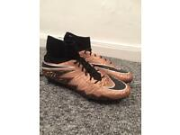 Nike Mercurial Hypervenom Size 10.5 Football Boots Like New