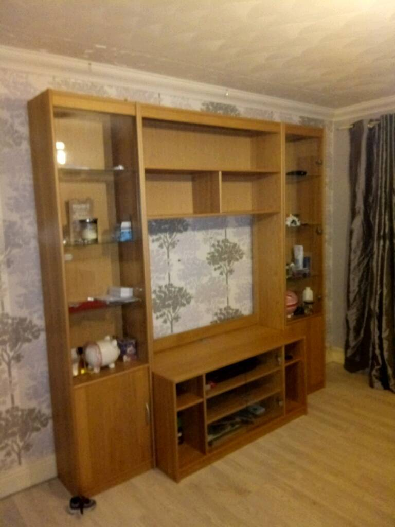 Ex john Lewis tv wall unit | in Aberdeen | Gumtree