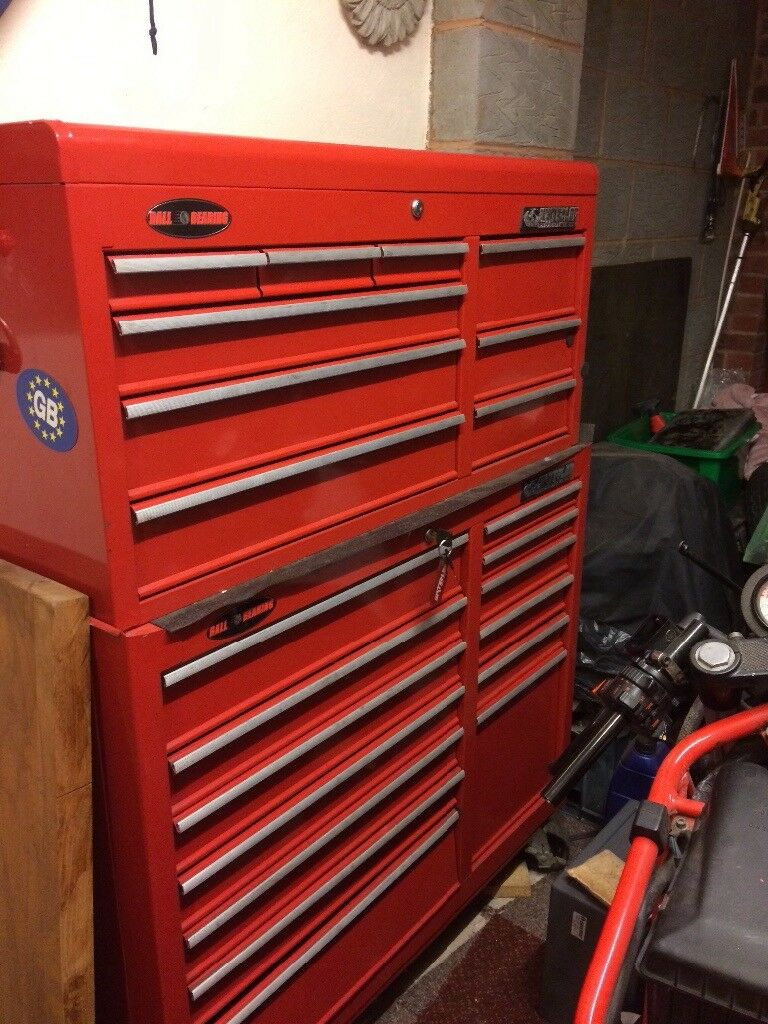 Terrific Waterloo Toolbox 40Inches Wide 57 Inches High Total 2 Drawers Need Runners Repairing In Exeter Devon Gumtree Machost Co Dining Chair Design Ideas Machostcouk