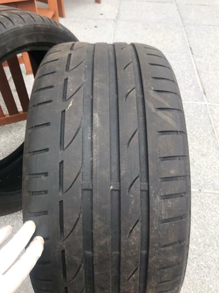 2 x Used Bridgestone Tyres  Size: 245/40/R18 | in Aberdeen | Gumtree