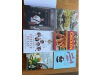 Recipe books x 6