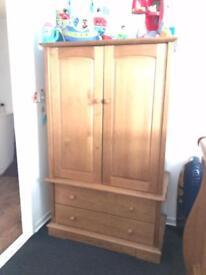Boori nursery furniture. Cotbed, wardrobe and drawers
