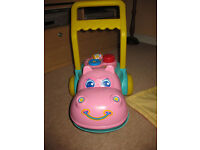 FABULOUS HIPPO WALKER + FREE BABY BOOKS! IMMACULATE! BARGAIN BUNDLE
