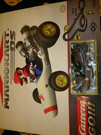 Mario kart race track.