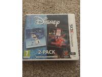 Disney Frozen & Big Hero 6 3ds Games