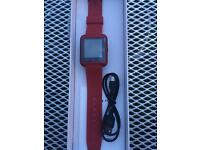 BRAND NEW Red SMARTWATCH