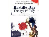 Book your ticket for Bastille Day