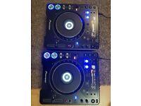 2 x Pioneer cdj 1000 mk2 great condition fully working dj decks