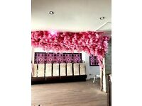 Flower Wall Installations, Floral Commercial Decor