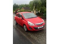 2011 Vauxhall Corsa. Perfect first time car. Low mileage