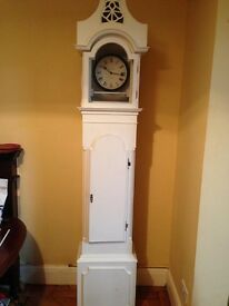Shabby chic Grandfather clock (shell)