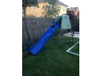 TP Climbing Frame with two slides