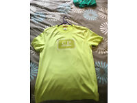 Lime green CP Company t-shirt