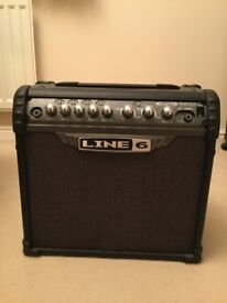 Line 6 Spider III 15 Watt Electric Guitar Amp + Cable