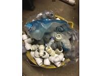 Whole bucket of hep 2 o and speedfit plumbing fittings