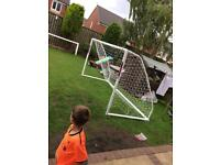 Brand new 6ftx12ft Samba match goal.