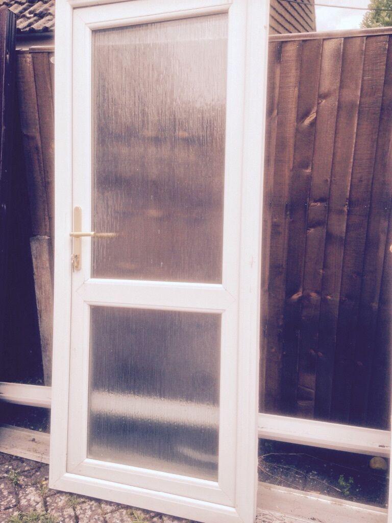 Upvc back door in waterlooville hampshire gumtree for Reclaimed upvc doors