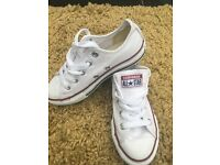 Unisex converse trainers