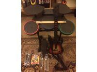 PS3 Guitar Hero World Tour Kit