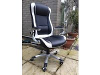 Office Chair Racing Gaming Swivel PU Leather Sport Very Good Condition