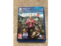 Far Cry 4 Limited Edition PS4 Game Sony Playstation 4