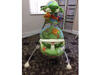 Fisher Price Rain Forest Swing - Excellent condition - DELIVERY AVAILABLE