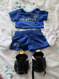 Build A Bear - Chelsea Football Outfit