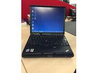 IBM Lenovo X61s Laptop, Intel core 2 Duo, 1.6GHz, Windows Vista Business, Docking station