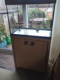 80 litre Fluval Fish Tank With Inbuilt Light and Stand