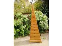 Wooden storage triangle