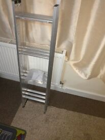 3 SECTION SLIDING LOFT LADDERS ALUMINIUM-new