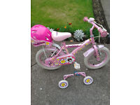 FOR SALE - APOLLO DAISYCHAIN 12 INCH GIRLS BIKE.
