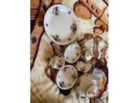 China tea set - cup plates teapot
