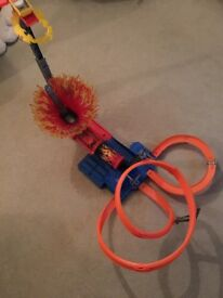 Hot Wheels Sky Track Frenzy Track - Complete