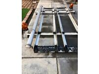 FORD TRANSIT ROOFRACK SWB EX BT WELL MADE WITH PIPE RACK AND LIGHTS BARGAIN AT £60