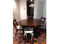 REDUCED FOR QUICK SALE: Antique Dining Table - Stunning Piece from the Swan at Tetsworth