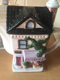 Decorative tea pots and ornaments