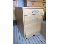 Ikea Office Storage Unit with Drawers and Hanging Files