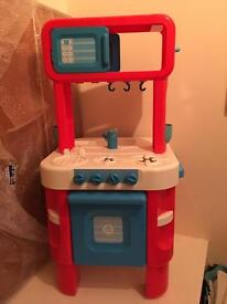 Children's Cooker with Accessories. Collect only.