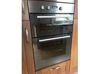 Hotpoint stainless steel double oven 600mm x 900mm