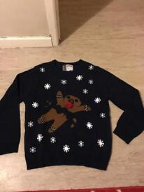 Brand new with out tags Christmas jumper size l