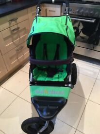 Out n About single pushchair - mojito green